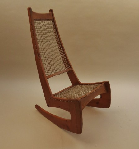 Jeremy Broun High Back Rocking Chair