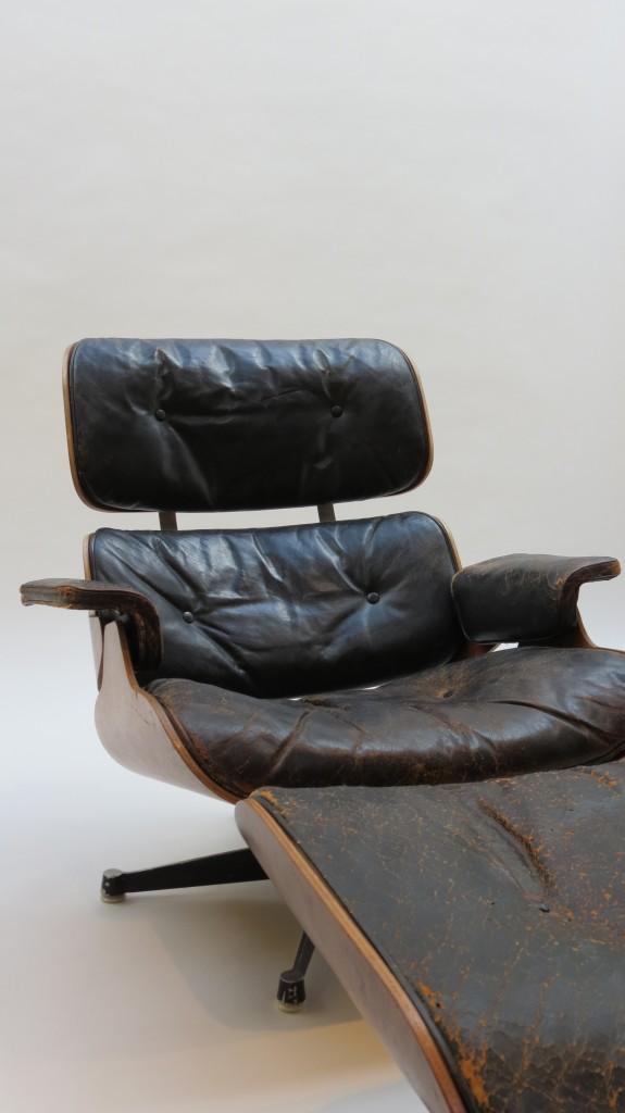 Eames Lounger and Ottoman 670 and 671