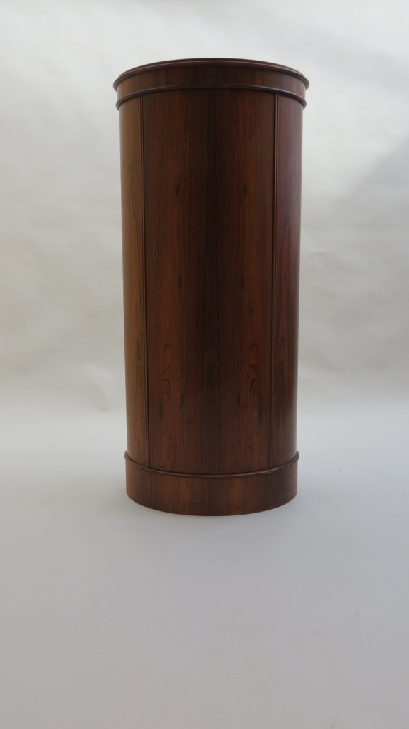 Pair of Danish Rosewood Pedestals by Johannes Sorth