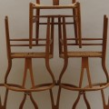 Hans J Wegner Wishbone Chairs, set of 6 image 2