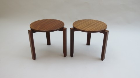 Vintage Afromosia stacking tables