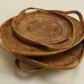 Vintage Soloman Hand Woven Baskets image 3