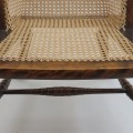 19th Century Cane Easy Armchair image 4