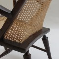 19th Century Cane Easy Armchair image 3