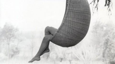 Original Nanna Ditzel Hanging Egg Chair