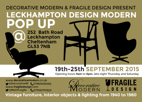 POP UP SHOP Leckhampton Design Modern