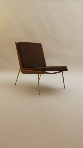 3 Boomerang Chairs by Peter Hvidt and Orla Molgaard Nielsen