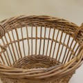 Mid century Large French Fruit Picker Basket – 2 available image 3