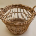 Mid century Large French Fruit Picker Basket – 2 available image 4