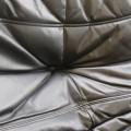 Original 1970s Ligne Roset Leather Sofa Togo Range image 4