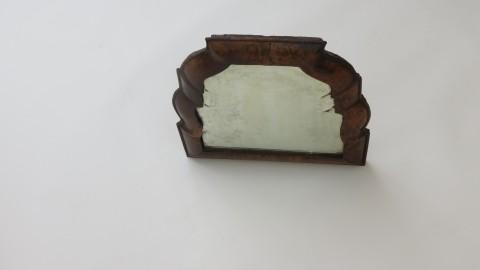Queen Anne Walnut Wall Mirror