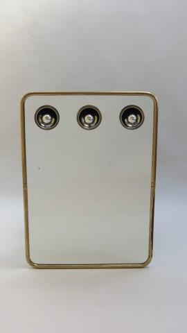 1960s/1970s Mirror with illumination