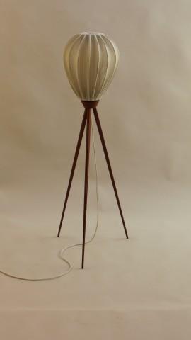 1950s Teak Floor Lamp