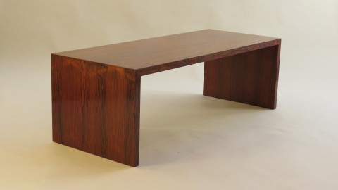 1970s Rosewood Coffee or Side Table