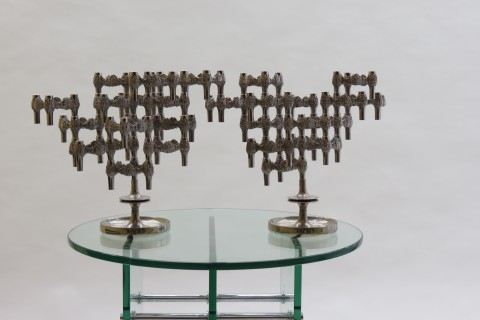 Pair of Candelabras by Quist Germany