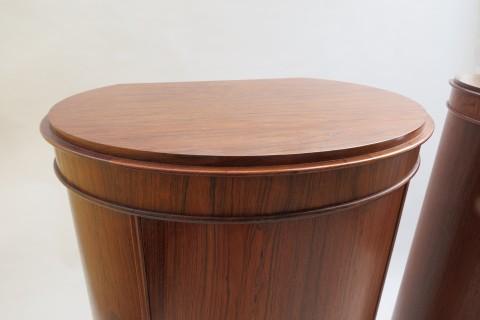 Danish Rosewood Cabinet by Johannes Sorth for Bornholms Mobelfabrick