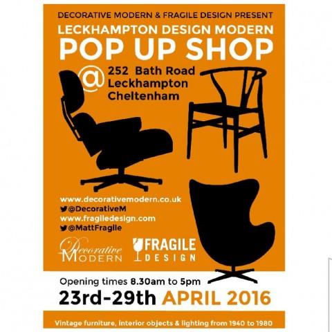 Leckhampton Design Modern Pop Up Shop