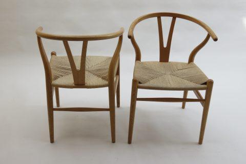 Hans Wegner Wishbone Chair in Oak by Carl Hansen 1 available
