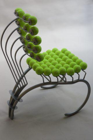 1980s Bespoke Sculptural Tennis Ball Chair Wimbledon Chair