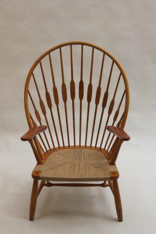Hans Wegner Peacock Chair by Johannes Hansen