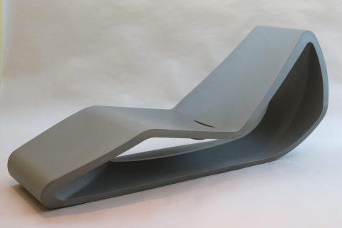Sunlounger designed by Nicholas le Nocher for Qui Est Paul, Roto Design