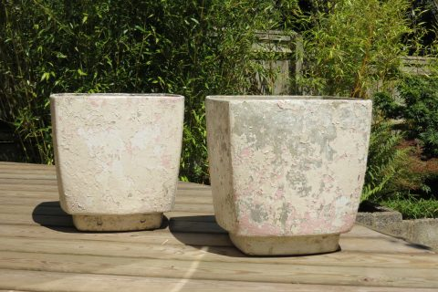 1960s Willy Guhl Square Planters