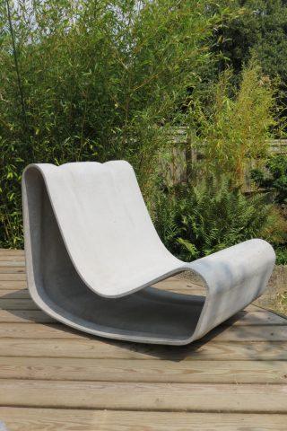 Garden Loop Chair by Willy Guhl