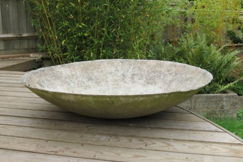 Large 1970s Concrete Planter Willy Guhl 3 available