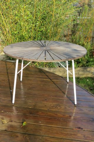 Danish Daneline Folding Garden Table