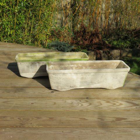 1970s Willy Guhl Fibrous Concrete Planters st986