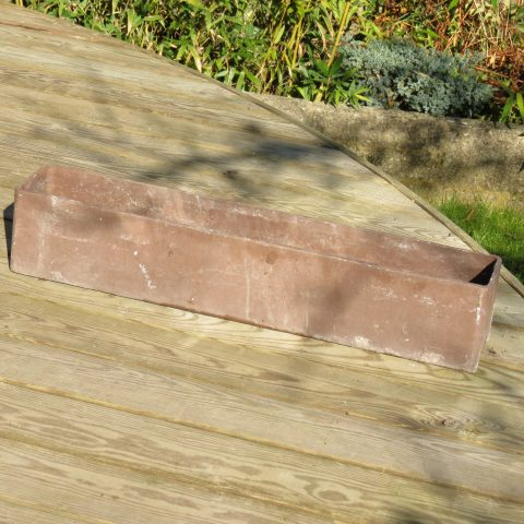 1970s Willy Guhl Fibrous ConcretePlanter by Eternit Original Brown