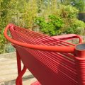 Alias Spaghetti chair by Giandomenico Belotti Italy 1980s in red image 6