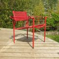 Alias Spaghetti chair by Giandomenico Belotti Italy 1980s in red image 1