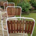 Daneline Garden Chairs in Teak set of 4 image 4