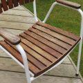 Daneline Garden Chairs in Teak set of 4 image 2